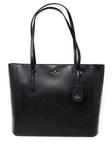 Kate Spade New York Schuyler Medium Leather Tote Shoulder Bag in Black 001