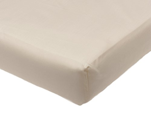 """Percale 2ft 6"""" Fitted Bunk Bed Sheet Childrens Caravan Boat Motor Home Bedding (Cream or White)"""