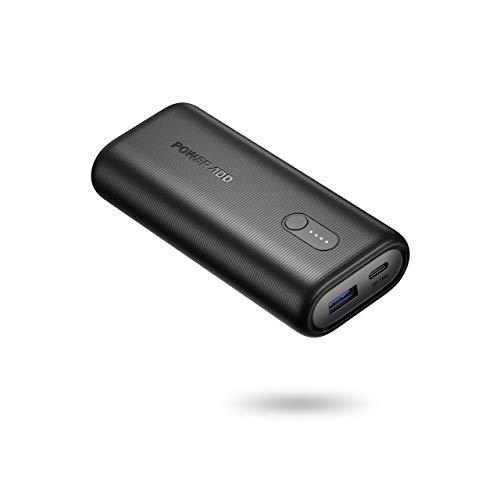POWERADD EnergyCell II Power Bank 10000mAh PD 18W Cargador Portátil Batería Externa para iPhone,iPad, Samsung,Huawei,Xiaomi, y Otros Dispositivos-Negro