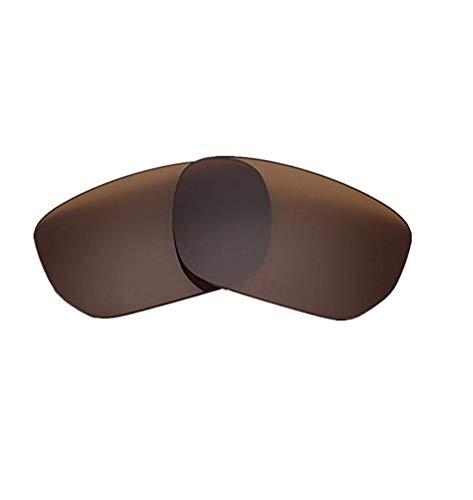 XDXART Polarisierte Ersatzgläser für Oakley OO9194 Style Switch (Brown)