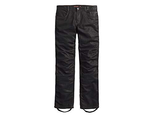 HARLEY-DAVIDSON Motorradhose Jeans Robust Gewachst Protektoren Baumwolle, 42