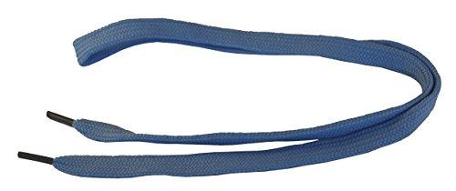 Underground Kulture d'enfant Lacets de Skate -Bleu Ciel 8mm x 60cm (Kids Baby Blue Shoelaces)