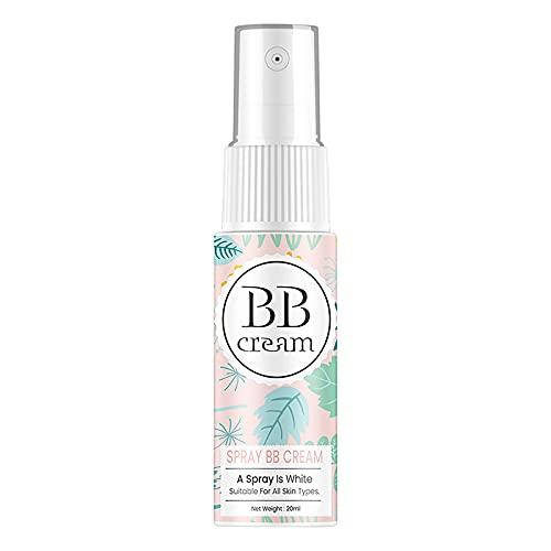 Soolike BB Cream y Crema Humectante Facial Piel Grasa,Spray Portátil,Control de Aceite 24 H, Blanqueamiento, Corrector,Ilumina el Color de la Piel,con Vitamina C,Unifica e Hidrata, 20ml.