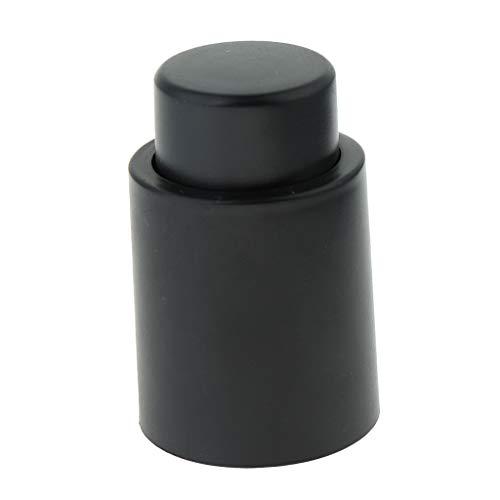 Baoblaze Tapón de Botella de Vino de Vacío Reutilizable Tapón de Vino - Negro, Tal como se Describe