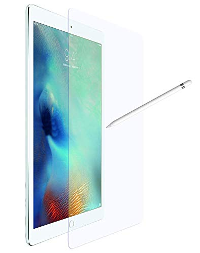 OKCS W&erglass - Panzerglas kompatibel für iPad Pro 12,9 Zoll Screenprotector Schutzglas Schutzfolie Folie Bildschirmschutz aus echt Glas
