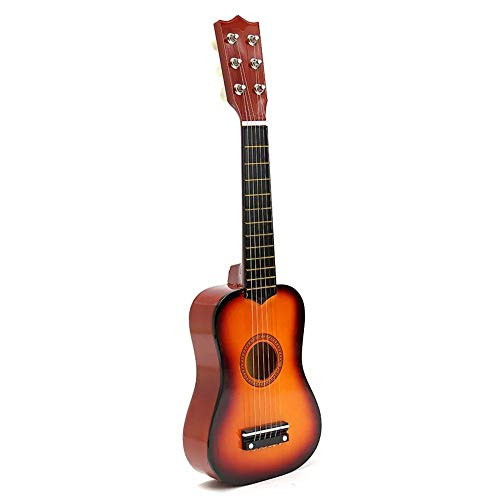 Lichtgewicht 6 String gitaar 21'' Beginners Basswood akoestische gitaar praktijk muziek instrumenten Geel