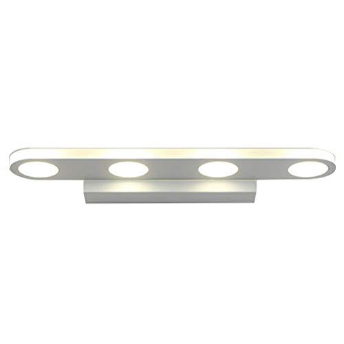 Uonlytech - Lámpara de Pared para Espejos (Impermeable, 40 cm, 12 W), Color Blanco