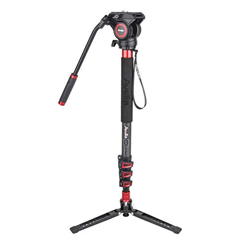 Avella CD324 Carbon Fiber Video Monopod Kit