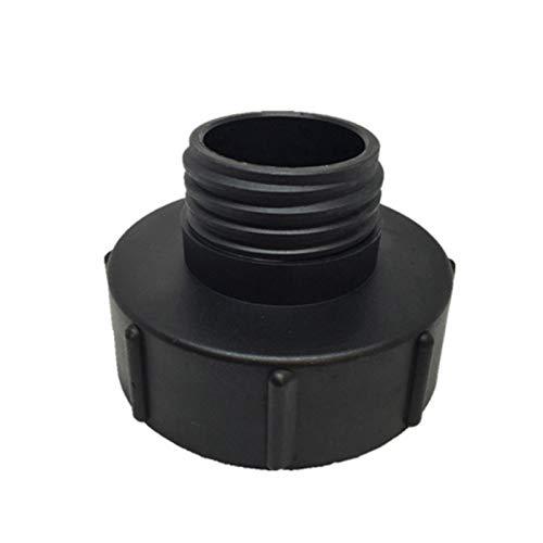 Adaptador para depósito IBC, tapón de depósitos IBC – S100 x 8 A S60 x 6 mm – Repuesto para jardín – Interruptor de riego conectores de herramientas