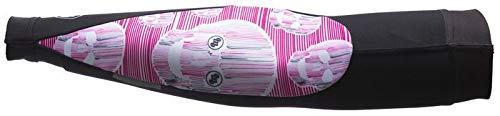 MB Wear Manchettes Pink Skull Mixte Adulte, Noir/Rose/Blanc, FR : 2XL (Taille Fabricant : XXL)