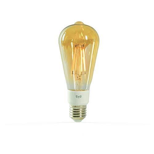 YEELIGHT Lampadina a filamento Smart a LED (Forma di pistone) | Versione UE, Gold