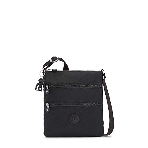 Kipling Women's Keiko Crossbody Mini Bag Cross Body, Black Noir, One Size