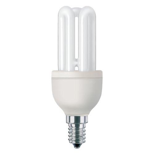 Philips Lighting G10Y11E14B1 Lampadina a Risparmio Energetico, 11W (Corrispondenti a 50W), Attacco Piccolo E14, Luce Bianca Calda
