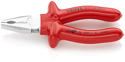 KNIPEX Alicate universal aislado 1000V (160 mm) 03 07 160