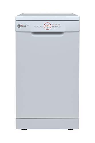 Haier Hoover HDPH2D1049W80 Slimline Freestanding Dishwasher, White,45cm