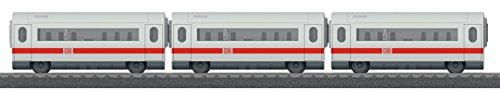 Märklin my world 44108 - Ergänzungswagen-Set zum ICE (abnehmbare Dächer), Spur H0