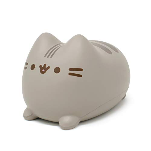 Hamee Pusheen Cat Slow Rising Cute Jumbo Squishy Toy (Bread Scented, 6.3 inch) [Birthday Gift Bags, Party Favors, Gift Basket Filler, Stress Relief Toys] - Loaf