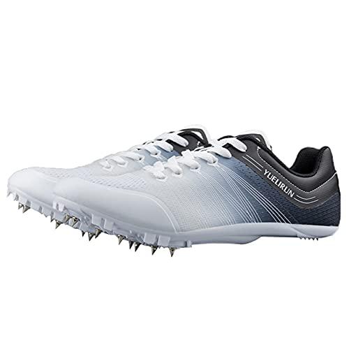 Willsky Track Field Zapatos Hombres Mujeres Spikes Running Sneakers Ligero Transpirable Para Niños Adultos Estudiantes