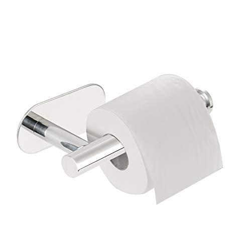 Yizhet Toilettenpapierhalter Ohne Bohren, Klopapierrollenhalter Edelstahl Klorollenhalter Selbstklebend Wc klopapierrollenhalter für Bad und Küche