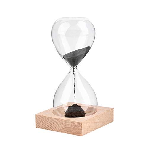 Baslinze Glas Eisen Pulver magnetische Sanduhr kreative Handwerk Sanduhr Dekoration