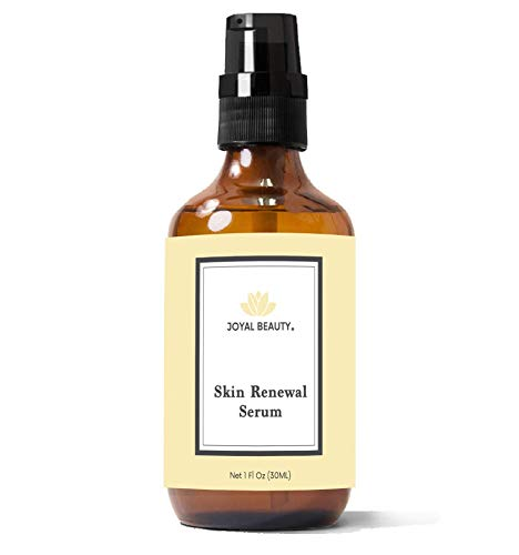 Organic Royal Jelly Skin Renewal Serum for Face Skin Eyes by Joyal Beauty. Best Intensive Firming Renewing Resurfacing Solution Enriched with Honey, Bee Propolis for Flawless Baby Soft Skin.