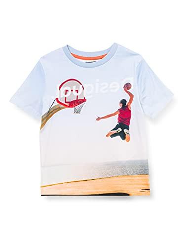 Desigual Boys TS_Dante T-Shirt, Blue, 11/12