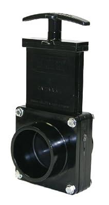"""Valterra 7203 ABS Gate Valve, Black, 2"""" Spig from Valterra Products"""