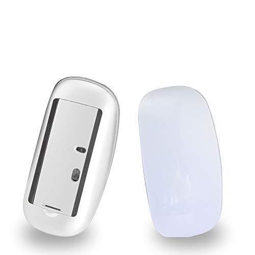 【Leggero e ultra sottile】 design sottile e leggero. Realizzato in materiale ABS + PC, non occupa la porta USB quando viene utilizzato. Il design leggero e portatile è la scelta migliore per i viaggi. 【Pulsanti silenziosi】 pulsanti silenziosi sinistro...