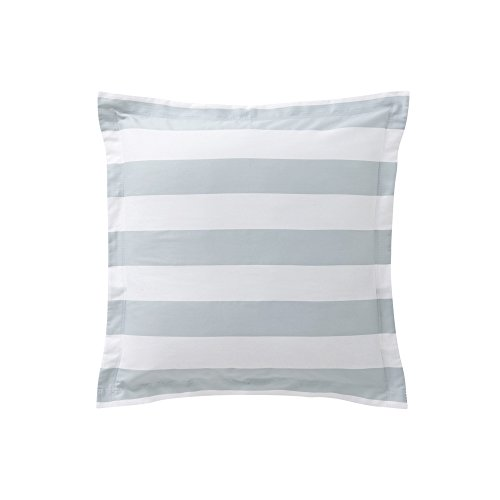 Essix Holidays Taie d'oreiller Satin de coton Jade 65 x 65 cm