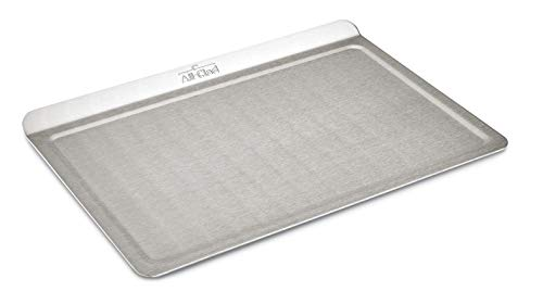 All-Clad 9000TS 18/10 Stainless Steel Baking Sheet Ovenware, 14-Inch by 10-Inch, Silver