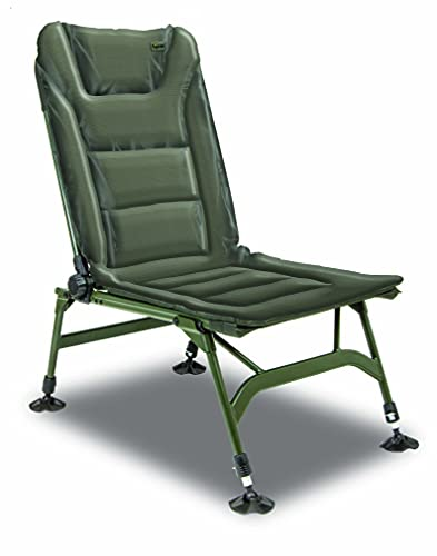 Solar Tackle UnderCover Padded Session Chair, Easy Adjustable With Lumbar Support, Velcro Fastening Straps, Foldable Legs With Clips