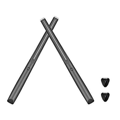 TTLIFE Batería electrónica Tambor de bolsillo inalámbrico con Bluetooth para entrenador tambor...