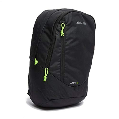 Eurohike Active 20L Daypack, Black, One Size