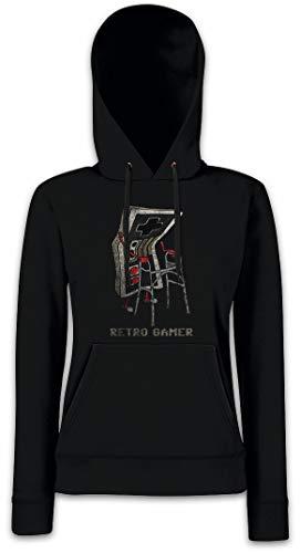 Urban Backwoods Retro Gamer Dames Hoodie Hooded Sweatshirt Met Capuchon