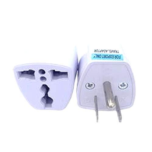 Universal EU UK AU to US USA Canada AC Travel Power Plug Adapter Converter Drop Shipping
