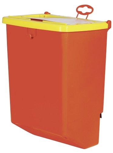 Kerbl 74104 Futterautomat für Kaninchen Kunststoff / Metall, 1 Fressplatz