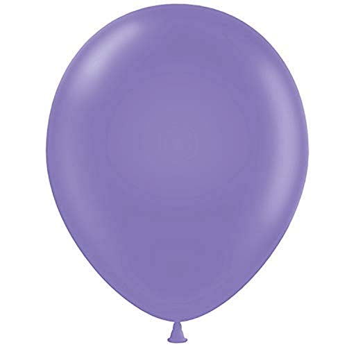 Tuf-Tex 5' Lavender Latex Balloons, 5'