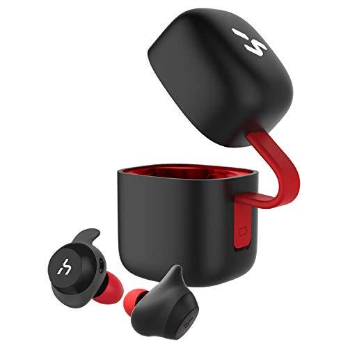 HAVIT「Bluetooth 5.0 」Bluetooth イヤホン完全ワイヤレスイヤホンTWSイヤホン スポーツイヤホン AAC対応/...