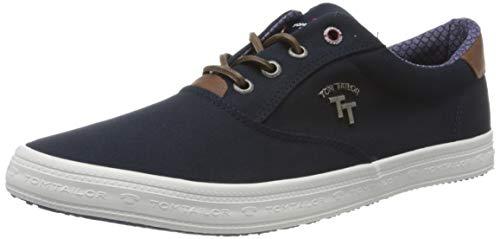 TOM TAILOR Herren 8081303 Sneaker, Blau (Navy 00003), 42 EU