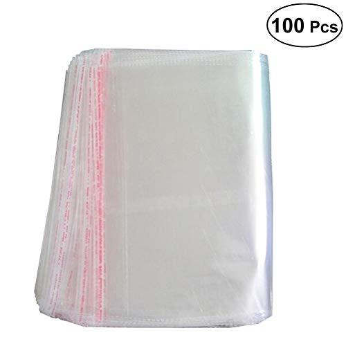 Ounona sachets plastique Transparent Peel Seal écran Emballage Sac 25x 40cm–100pcs