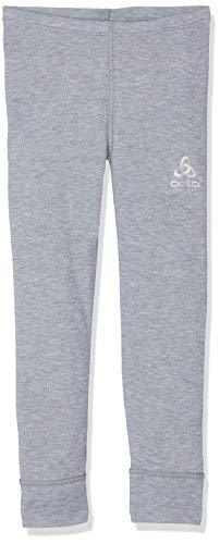 Odlo Kinder Pants Warm Kids, Grau (grey melange), 164 CM