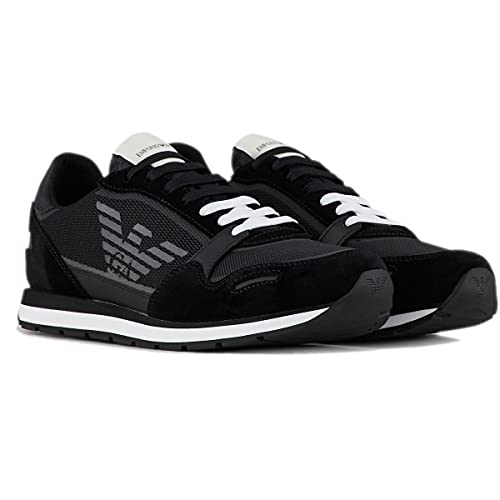 armani scarpe uomo sneakers Armani X4X537 XM678 Sneakers Uomo Nero 44