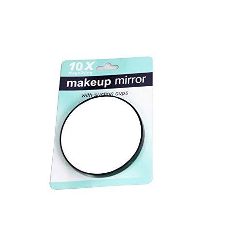 AJIHFD zuignap spiegel 10 keer vergroting kleine spiegel enkele spiegel badkamer vergrootglas make-up gereedschap