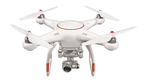 VOOCO X-Star Premium Drone with 4K Camera, 1.2-Mile HD Live View & Hard Case (Orange)
