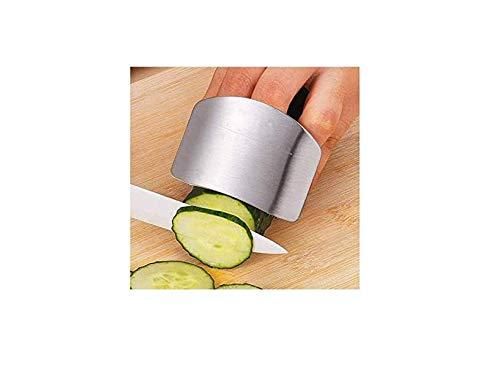 HYDO Fingerschutz aus Edelstahl Handschutz schützt Finger hacken sichere Scheibe Edelstahl Küche Handschutz Scheibe Schutzwerkzeug Sicherheitsscheibe Handschutz Edelstahl Küchenwerkzeug
