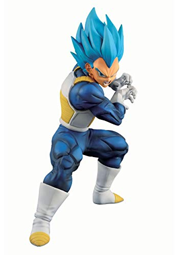 TAMASHII Nations Super Saiyan God Super Saiyan Evolved Vegeta (Ultimate Variation) Dragon Ball, Bandai Ichiban Figure (BAS60321)