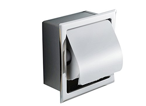 Top 10 best selling list for ixaer recessed stainless steel bathroom toilet roll paper holder