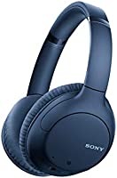 Sony Noise Cancelling Headphones WHCH710N: Wireless Bluetooth Over the Ear Headset with Mic for Phone-Call, Blue (Amazon...
