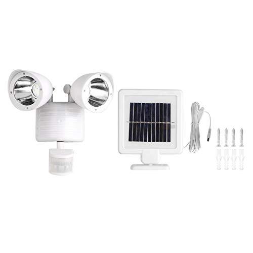 Sommaröverraskning PIR-rörelsesensorljus, effektivt ABS-material Vattentätt väggbelysning, Digital utmärkt uppfartstaket för trädgårdsportaler