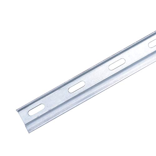 5x sossai® Dexo Aufhänge-Schiene/Montageschiene | Länge: 100 cm | kürzbar | Wandhalter, Schrankträger, Schrankhalter für Küchen-Hängeschränke